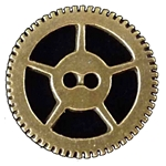 Steampunk Sew-Through Gear Button 21-2081