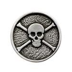 Jolly Roger Pirate Button 21-2095