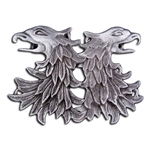 Double Griffin Head Cloak Clasp 21-2105