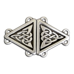 Celtic Triangle Cloak Clasp 130.0701