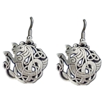 Celtic Seahorse Earrings 21-2122