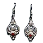 Renaissance Pewter Earrings 132.0305