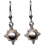 Sunburst Pewter Earrings 132.0693