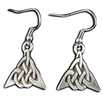 Triangle Celtic Knot Earrings 132.0504