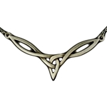 Pewter Celtic Knot Necklace 21-2207