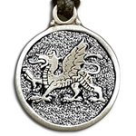 Welsh Dragon Pendant Necklace 121.0764