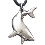 Great White Shark Pendant 21-2239