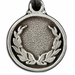 Laurel Wreath Pewter Necklace 121.0610