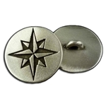 Compass Rose Button 21-2255