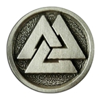 Viking Valknut Button 21-2257
