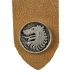 Pewter Medieval Wolf Bookmark 21-2310
