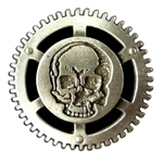 Steampunk Pirate Button 107.1260