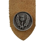 Pewter Scottish Thistle Bookmark 21-2328