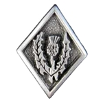 Scottish Thistle Pewter Button 21-2331