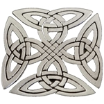Celtic Square Knot Brooch 21-2356