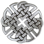 Pewter Celtic Knot Brooch 21-2358