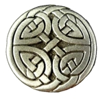 Celtic Triskelion Knot Button 107.1264