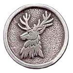 Stag Pewter Pin 116.0612