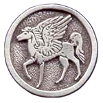 Pegasus Pewter Pin 116.0613