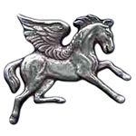 Pegasus Pewter Pin 116.0675