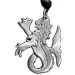 Sea Lion Pewter Pendant 121.0330