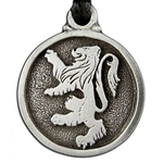Rampant Lion Pendant Necklace 121.0617
