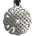 Round Celtic Knot Pendant Necklace 121.0658