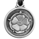 Tudor Rose Pendant Necklace 121.0670