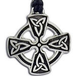 Open Celtic Cross Pendant Necklace 121.1448