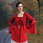 Cherry Crepe Blouse 22-C1154