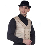 Double Breasted Waistcoat Plus Size