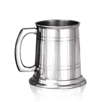 Pewter Tankard Half Pint with Straight 2 Lines HP001
