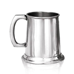 Pewter Tankard Half Pint Straight HP002