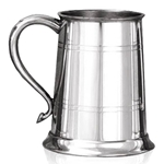 Swan Handle Pewter Tankard One Pint EP004