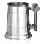 Key Handle 21 Pewter Tankard One Pint EP011