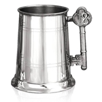 Key Handle 18 Pewter Tankard One Pint EP012