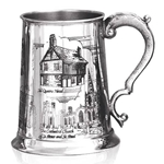 Sheffield Scenes One Pint Pewter Tankard