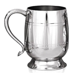 Stout One Pint Pewter Tankard