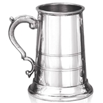 Heavy Gauge Nelson One Pint Pewter Tankard
