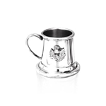 Mini 1 oz Thistle Badge Pewter Tankard