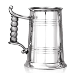 Heavy Gauge Monk One Pint Pewter Tankard