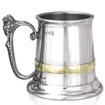 Extra Heavy Gauge Balmoral One Pint Pewter Tankard