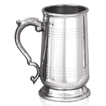 Heavy Gauge Sandringham One Pint Pewter Tankard