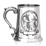 Shooting One Pint Pewter Tankard