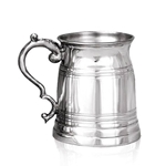Old London Half Pint Pewter Tankard