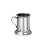 Mini 3 Ounce Straight Pewter Tankard