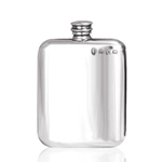 Purse Pewter Flask 4 Ounces