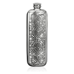 Top Pocket Celtic Pewter Flask 3 Ounces