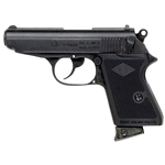 Bond Style Semi Automatic Blank Firing Gun Blued 8mm 24-38007