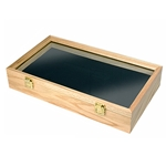 Wooden Dagger or Pistol Display Box with Foam Insert